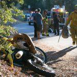 Serious injury crash in Idyllwild