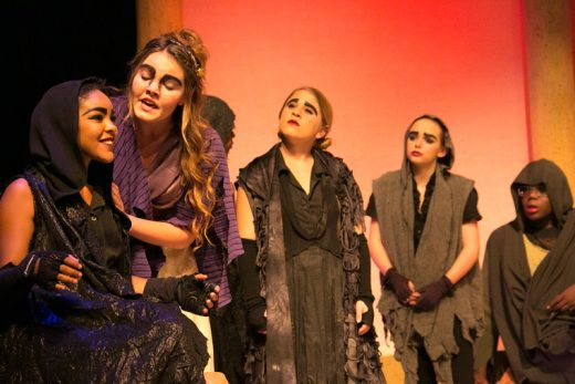 """Idyllwild Arts had its first theater production of the year over the weekend. """"Medea"""" is an ancient Greek tragedy written by Euripides, based upon the myth of Jason and Medea and first produced in 431 BC.Photo by Jenny Kirchner"""