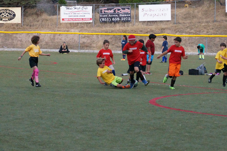 Town Hall youth soccer continued last week with very exciting and competitive games.Photo by Chandra Lynn