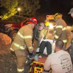 Collision sends local to hospital