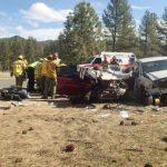 Fatality crash at Thomas Mountain