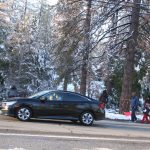 Snow visitor issues – call sheriff: No confrontation
