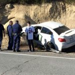 Two collisions on Hill roads on same day