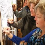 Photos: Adult coloring party