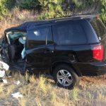 Craig Wills survives head-on crash