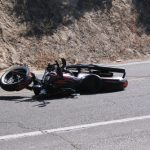 Two motorcycle crashes on Hill roads last week