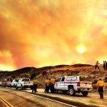 Fire threatens local communities