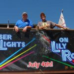 Laser show on Lily Rock aims to awe on Fourth