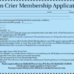 Town Crier Memberships include businesses and nonprofits