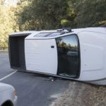 Overturned truck on Highway 74; no injuries