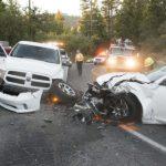 Three car collision in Idyllwild Saturday evening
