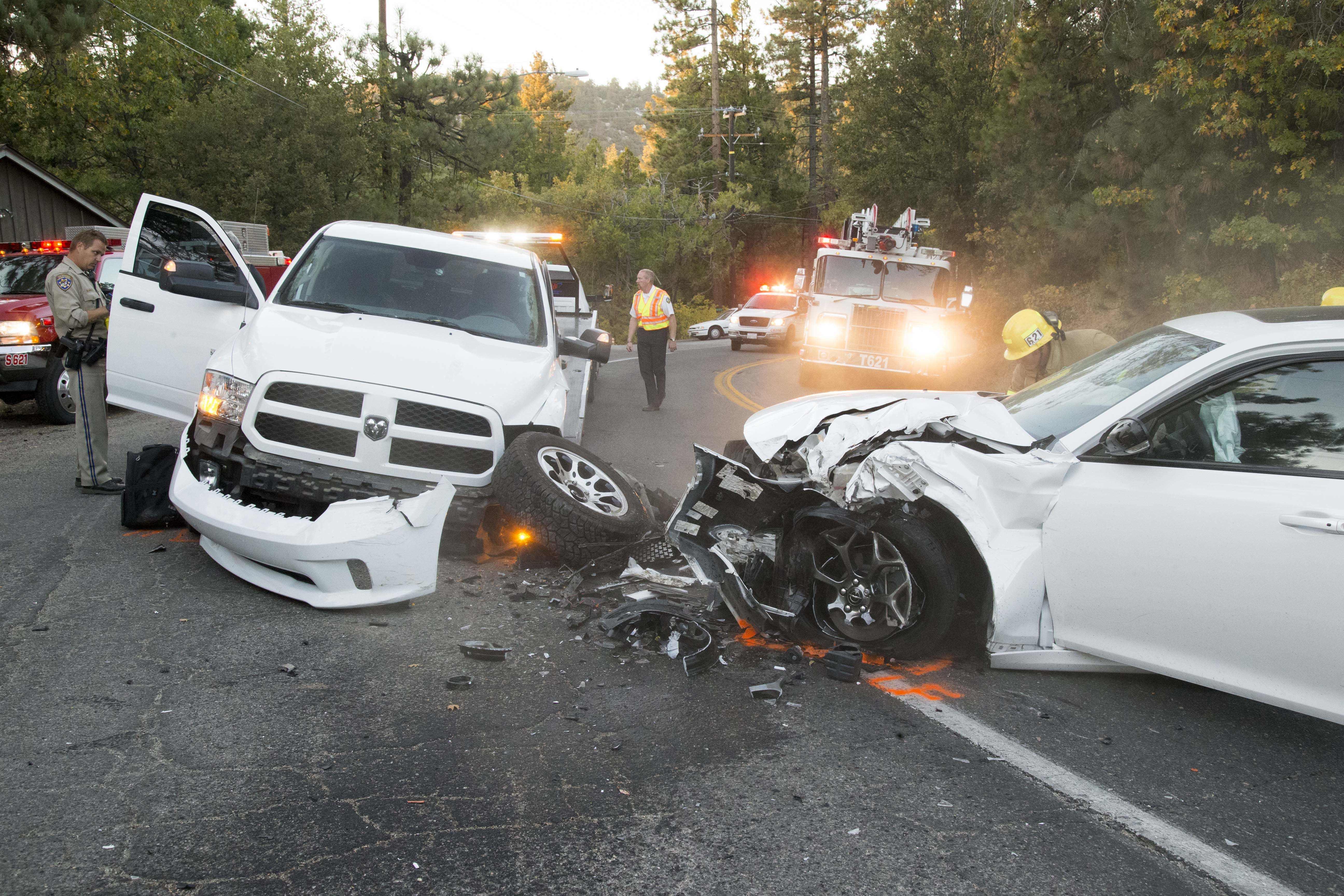 2018 Fj Cruiser >> Three car collision in Idyllwild Saturday evening • Idyllwild Town Crier