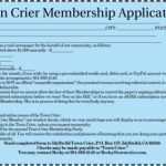 Town Crier Memberships gradually replacing subscriptions