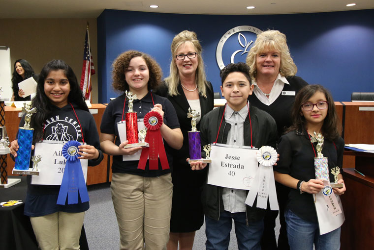 Local is fourth-place speller in Hemet Spelling Bee