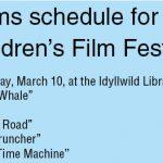 Children's Film Festival part of larger festival