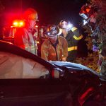 Several collisions on Hill roads last week