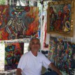 Artist Rob Padilla, ambassador for the arts