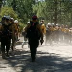 Wildfires impact firefighters' mental health