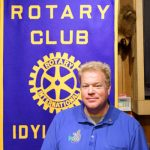 Christopher Scott takes reins of Rotary