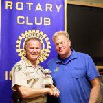 Sheriff addresses Rotary Club