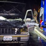 Car fire in Pine Cove Wednesday night