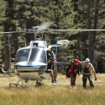 Tired hikers extracted from San Jacinto State Park