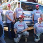 Team Rubicon  providing wildfire mitigation support in Idyllwild