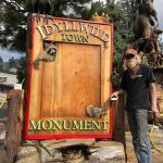 New town monument sign created