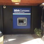 New BBVA ATM installed in bank building