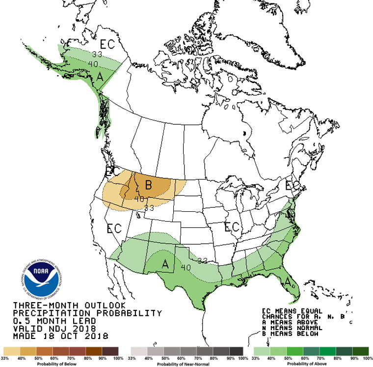 Weather Southern California Map.Nws This Winter Expect Some Rain Maybe Snow Idyllwild Town Crier