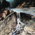 CHP warns of erosions on hwys 74 and 243 – UPDATE: Hwy 243 now washed out above Lake Fulmor