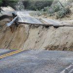 Torrential rain severely damages highways