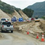 A photographic tour of the damage to and repair of Highway 74