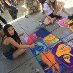 Sidewalk Chalkfest in Idyllwild
