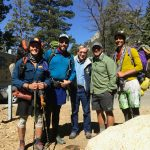 Roland Gaebert, volunteer and  PCT trail angel, offers support and friendship