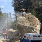 Work continues on Highway 243 repair