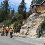 Major repairs and reconstruction continue on Highway 243