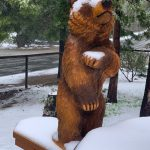 Snow??!!  It's MAY!!!