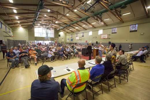 Caltrans meets with Idyllwild community: new weekend access