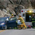 Traffic crash on 243