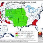 Winter and spring weather delays fire season