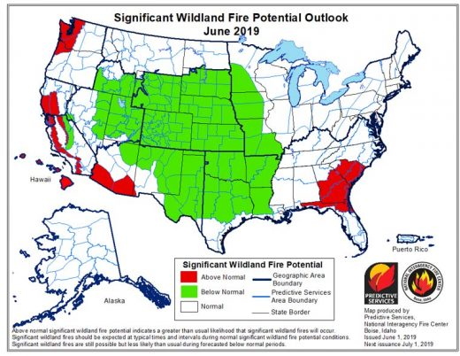 Winter and spring weather delays fire season • Idyllwild