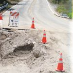 Highway 243 repairs in photos