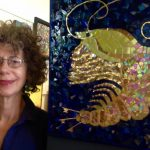Desert artist features Keystone Species mosaics at the library