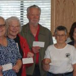 Pine Cove Property Owners donate to several local groups