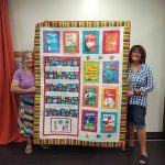 Mountain Quilters commemorate library's centennial celebration