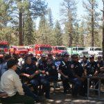 Mountain fire agencies train at Hurkey Creek
