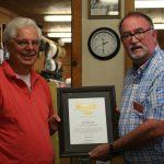 JP Crumrine recognized by Sen. Jeff Stone