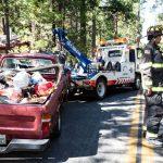 Solo vehicle injury crash