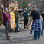 Impeachment vote brings local rallies